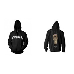 Metallica - One - Hooded Sweat Shirt Zip (Homme)
