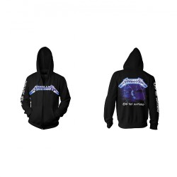Metallica - Ride The Lightning - Hooded Sweat Shirt Zip (Homme)