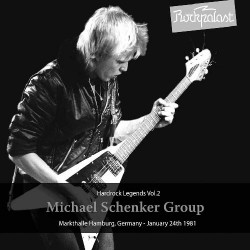 Michael Schenker Group (MSG) - Hardrock Legends Vol.2 / Markthalle Hamburg, Germany - January 24th 1981 - DOUBLE LP GATEFOLD COLOURED