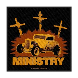 Ministry - Jesus Built My Hotrod - Patch