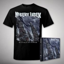 Misery Index - Bundle 1 - CD + T-shirt bundle (Homme)