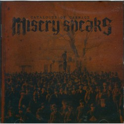 Misery Speaks - Catalogue of Carnage - CD