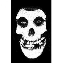 Misfits - White Skull - Patch