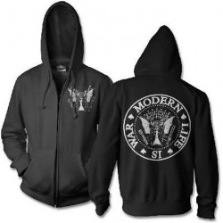 Modern Life Is War - Dead Ramones - Hooded Sweat Shirt Zip (Homme)