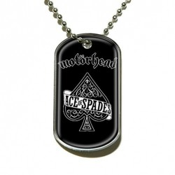 Motorhead - Ace Of Spades - Dog Tag
