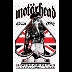 Motorhead - Houston Show - UK Version - Giclée