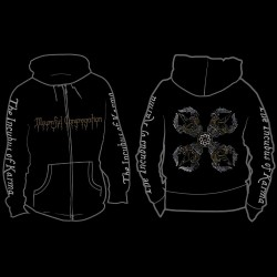 Mournful Congregation - The Incubus Of Karma - Hooded Sweat Shirt Zip (Homme)