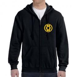 Municipal Waste - Logo Reaper - Hooded Sweat Shirt Zip (Homme)