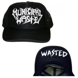 Municipal Waste - Logo Wasted - Trucker Cap (Homme)