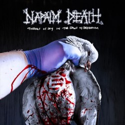 Napalm Death - Throes of Joy in the Jaws of Defeatism - CD Digibook + patch