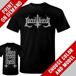 Necrowretch - The Ones From Hell - Print on demand