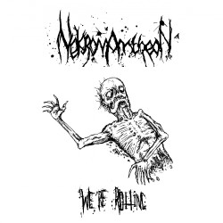 Nekromantheon - We're Rotting - Mini LP