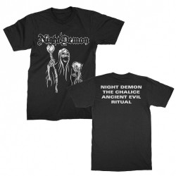 Night Demon - Black EP Cover - T-shirt (Homme)