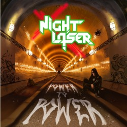 Night Laser - Power To Power - LP COLOURED