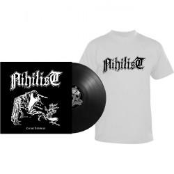 Nihilist - Carnal Leftovers - LP + T-Shirt bundle (Homme)