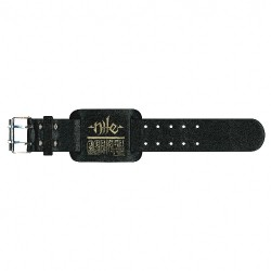 Nile - Logo / Hieroglyphs - Leather Bracelet