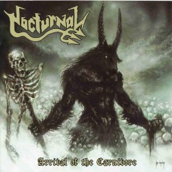 Nocturnal - Arrival Of The Carnivore - CD