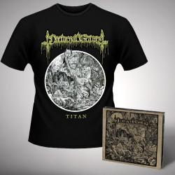 Nocturnal Graves - Bundle 1 - CD DIGIPAK + T-shirt bundle (Homme)