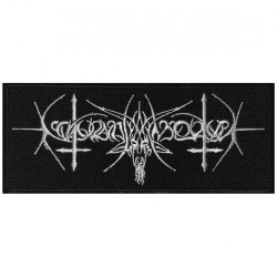 Nokturnal Mortum - Goat Horns Logo - EMBROIDERED PATCH