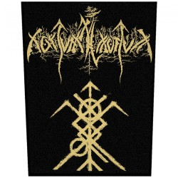 Nokturnal Mortum - New Logo - BACKPATCH