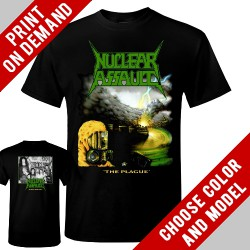 Nuclear Assault - The Plague - Print on demand