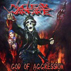 Nuclear Warfare - God Of Agression - CD