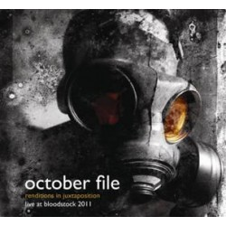 October File - Renditions in Juxtaposition (Live at Bloodstock 2011) - CD + DVD digibook