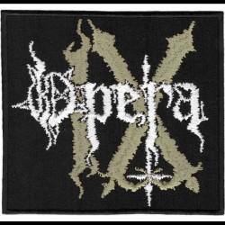 Opera IX - Logo - EMBROIDERED PATCH