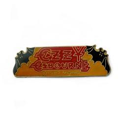 Ozzy Osbourne - Red Logo - METAL PIN