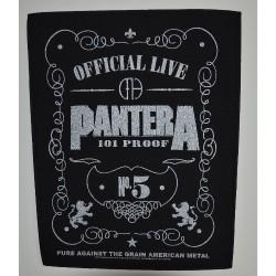 Pantera - 101 Proof - BACKPATCH