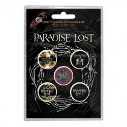 Paradise Lost - Crown Of Thorns - BUTTON BADGE SET