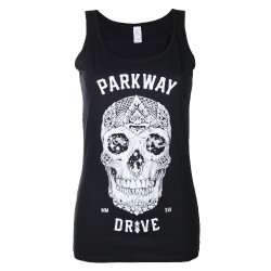 Parkway Drive - Skull - T-shirt Tank Top (Femme)