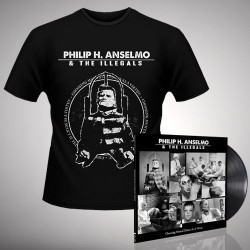 Philip H. Anselmo & The Illegals - Bundle 2 - LP gatefold + T-shirt bundle (Homme)