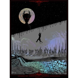 Queens Of The Stone Age - Manchester Arena - Lithograph