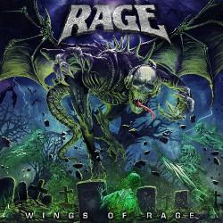 Rage - Wings Of Rage - DOUBLE LP Gatefold