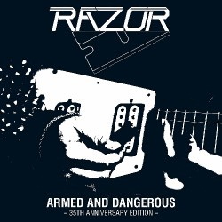 Razor - Armed And Dangerous - 35th Anniversary - LP COLOURED