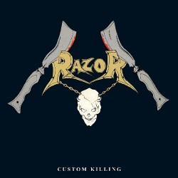 Razor - Custom Killing - CD SLIPCASE