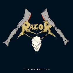 Razor - Custom Killing - LP COLOURED