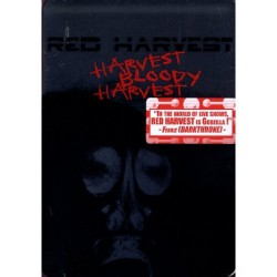 Red Harvest - Harvest Bloody Harvest - DVD METAL BOX