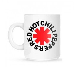 Red Hot Chili Peppers - Logo white - MUG