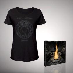 Regarde Les Hommes Tomber - Bundle 2 - CD DIGIPAK + T-shirt bundle (Femme)
