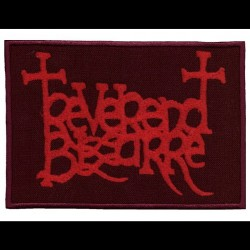 Reverend Bizarre - Red Logo - EMBROIDERED PATCH