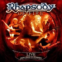 Rhapsody (of Fire) - Live - From Chaos to Eternity - 2CD DIGIPAK