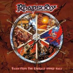 Rhapsody (of Fire) - Tales From The Emerald Sword Saga - CD