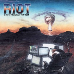 Riot - Archives Volume 4: 1988-1989 - DOUBLE LP GATEFOLD COLOURED + DVD