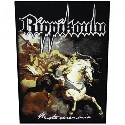 Rippikoulu - Musta Seremonia - BACKPATCH