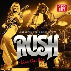 Rush - Live On Air - 4CD DIGIPAK