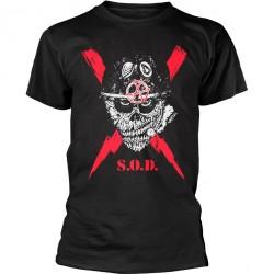 S.O.D. - Scrawled Lightning - T-shirt (Homme)