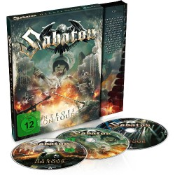 Sabaton - Heroes On Tour - 2 DVD + CD DIGI SLIPCASE
