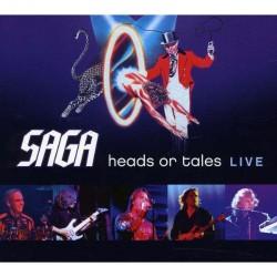 Saga - Heads Or Tales Live - CD DIGIPAK
